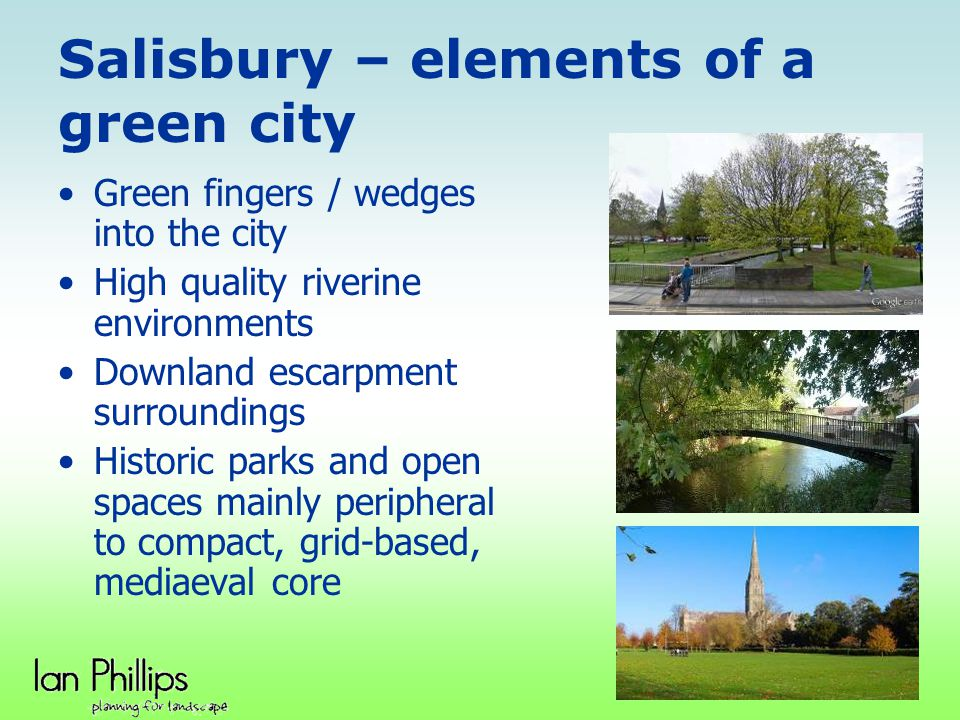 Salisbury – elements of a green city