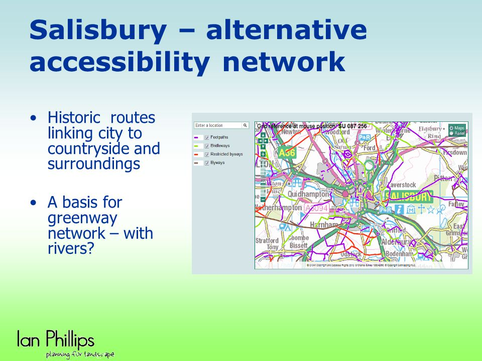Salisbury – alternative accessibility network