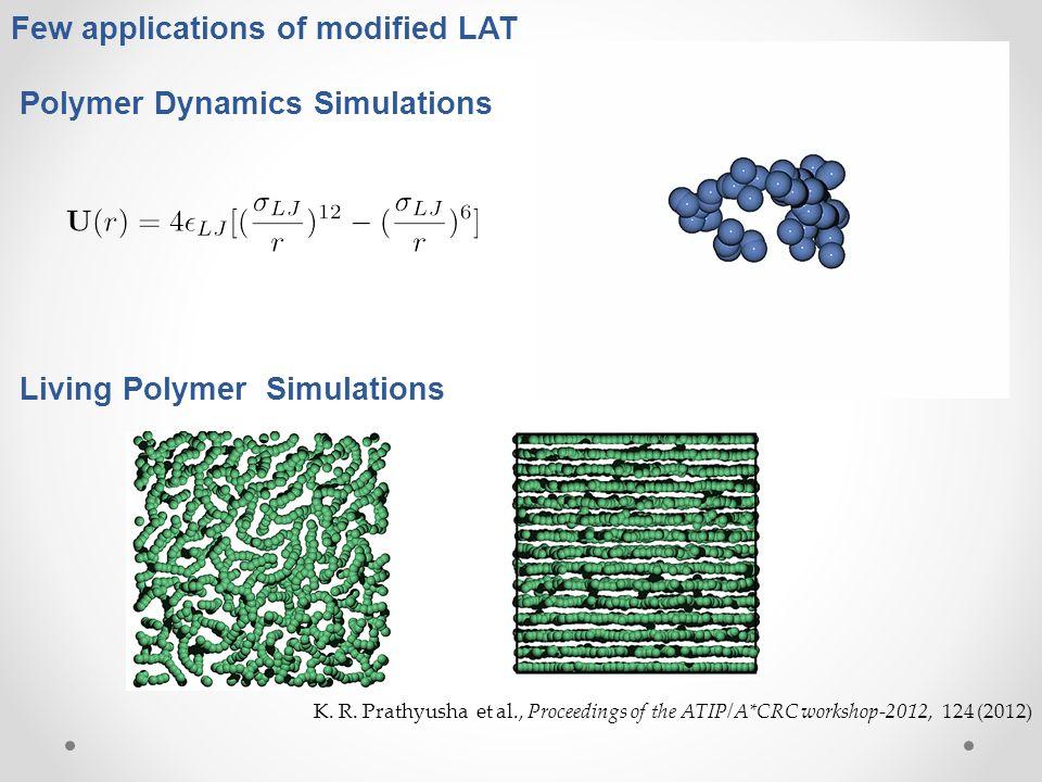 Few applications of modified LAT