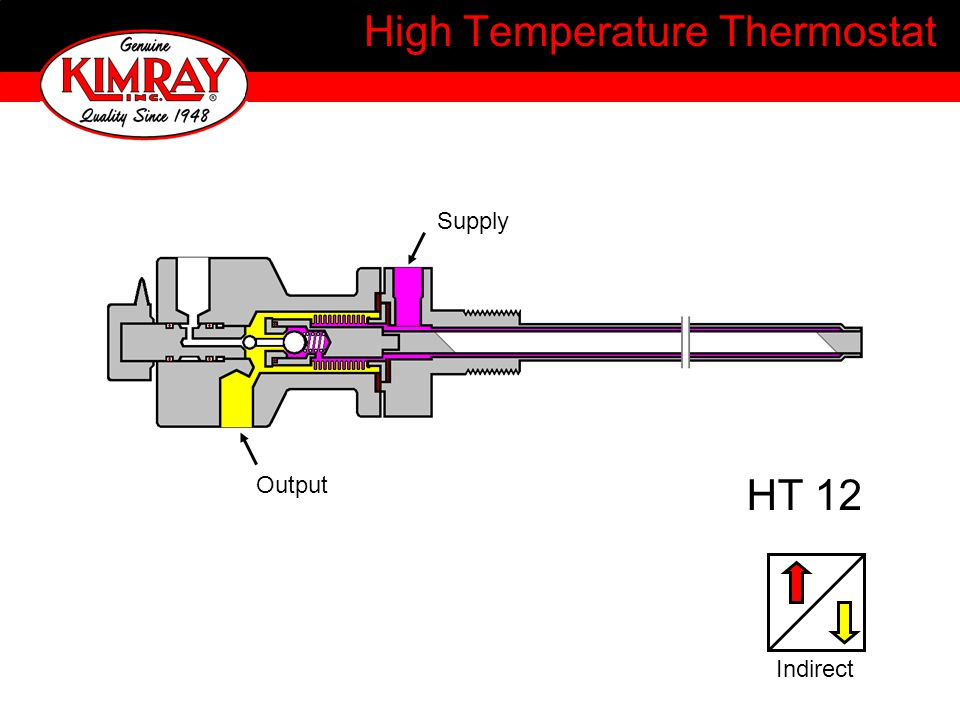 High Temperature Thermostat