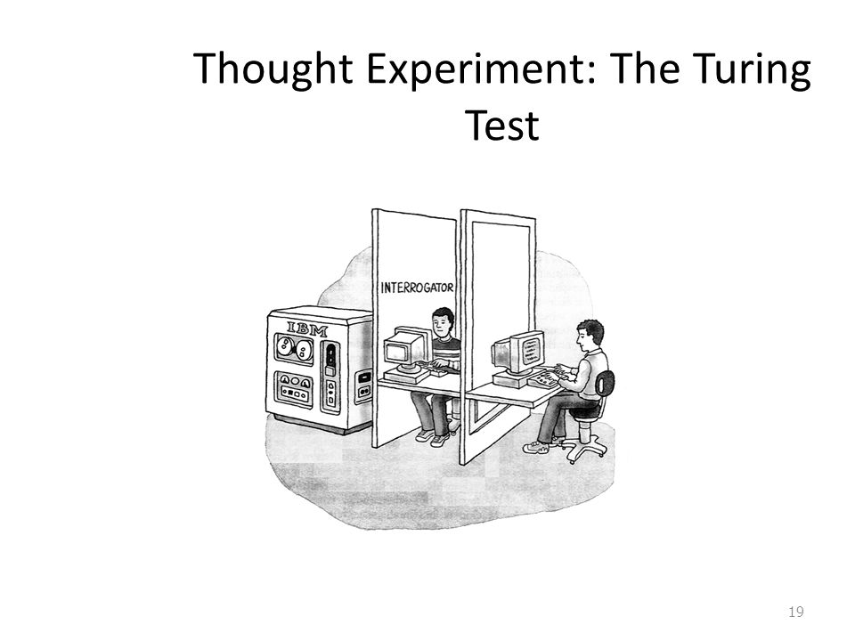 Thought Experiment: The Turing Test