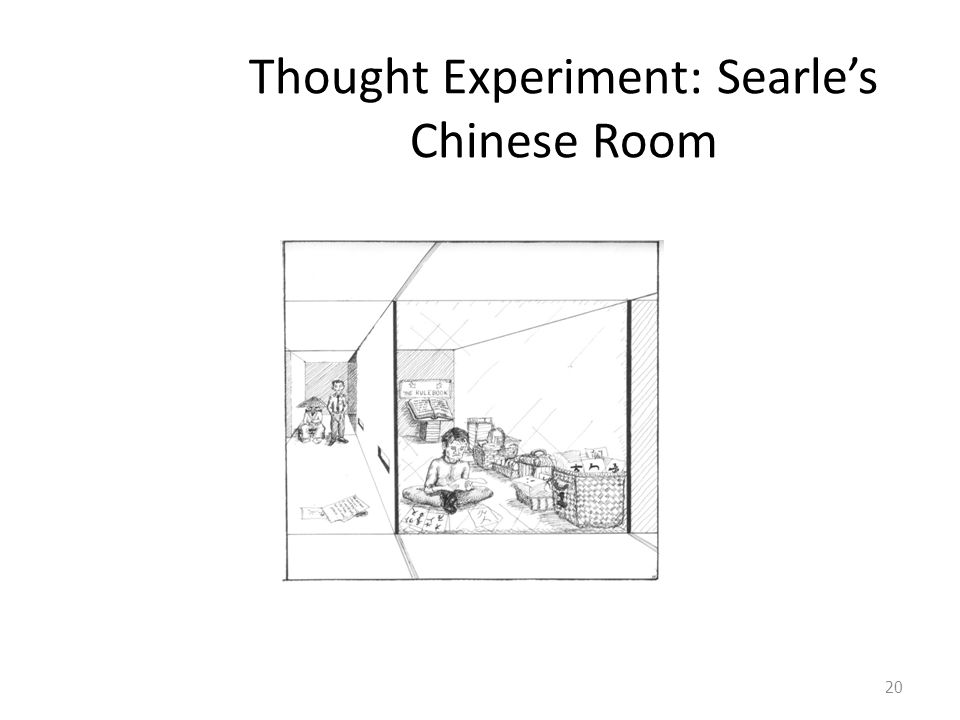 Thought Experiment: Searle's Chinese Room