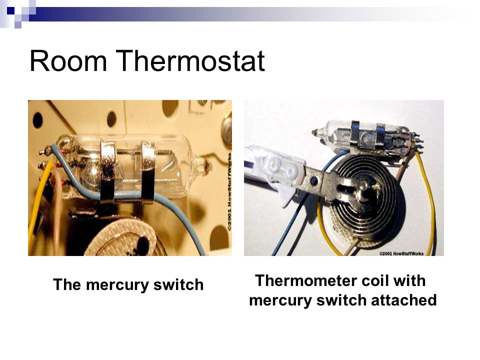 mercury switch attached