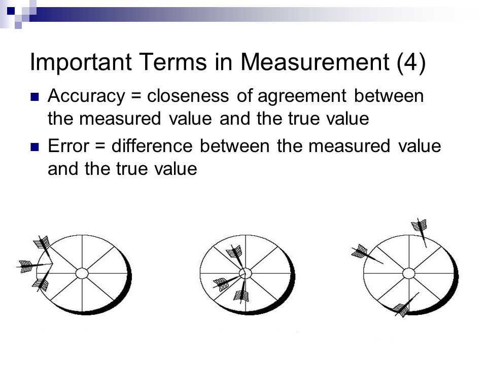 Important Terms in Measurement (4)