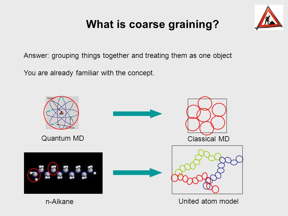 What is coarse graining