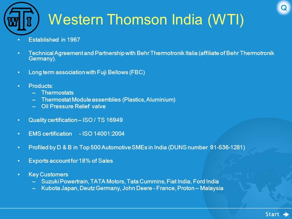 Western Thomson India (WTI)