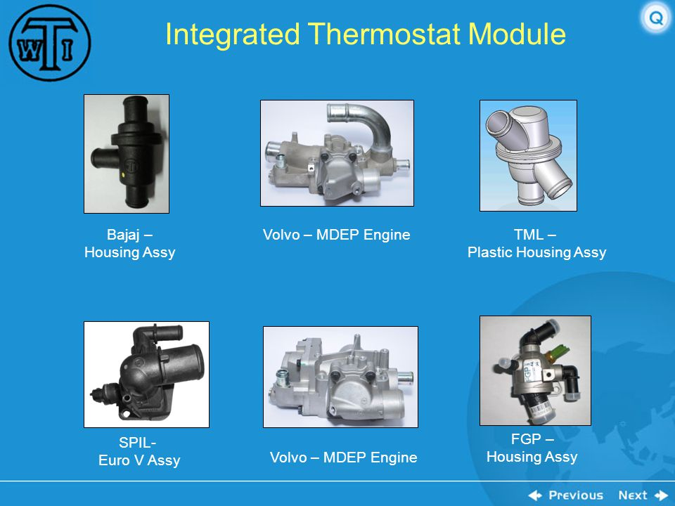 Integrated Thermostat Module
