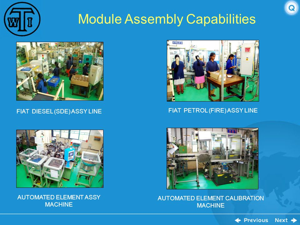Module Assembly Capabilities