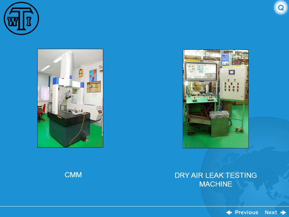 DRY AIR LEAK TESTING MACHINE