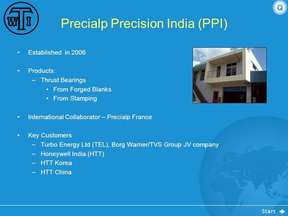 Precialp Precision India (PPI)