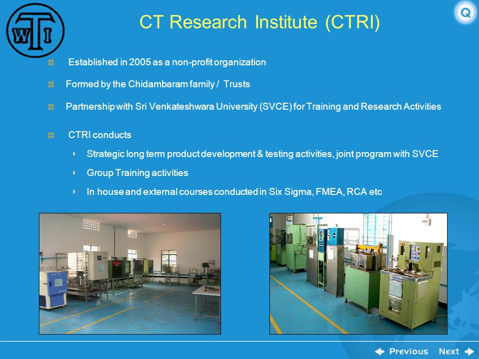 CT Research Institute (CTRI)