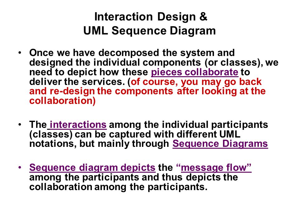 Interaction design uml sequence diagram ppt video online download interaction design uml sequence diagram ccuart Gallery
