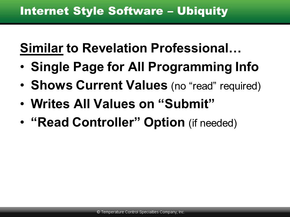 Internet Style Software – Ubiquity