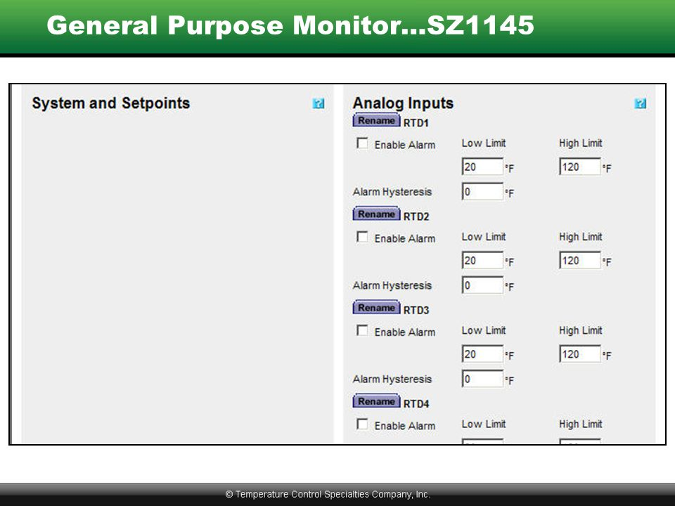 General Purpose Monitor…SZ1145