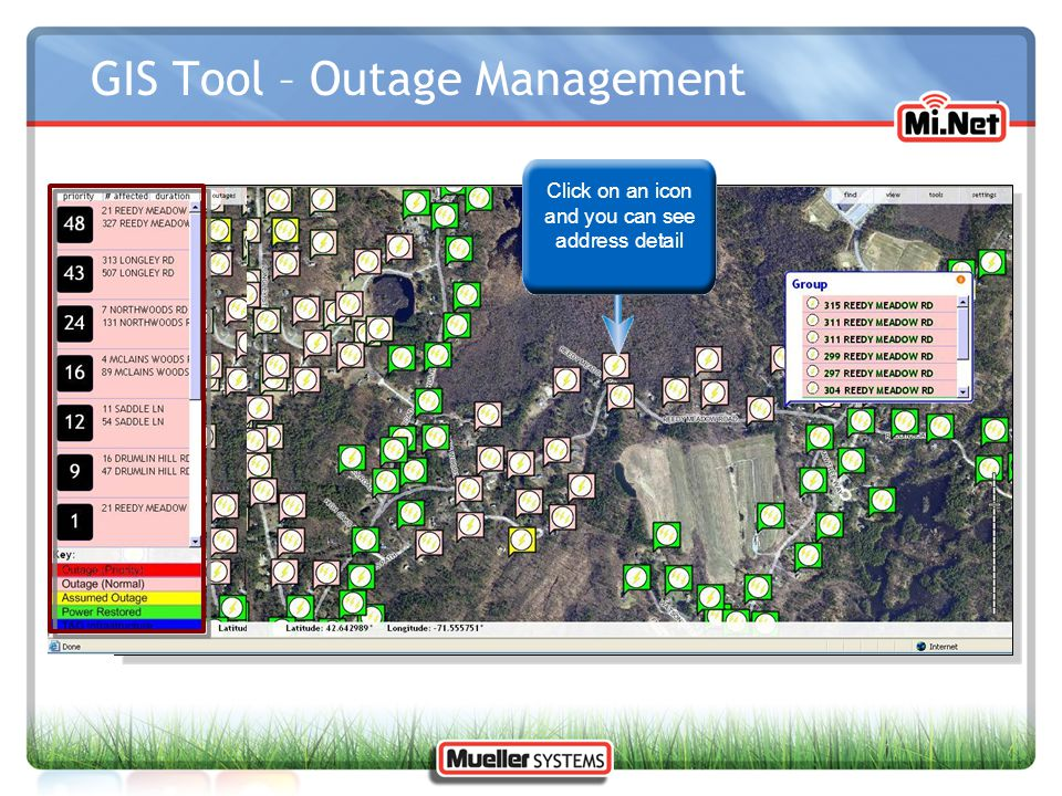 GIS Tool – Outage Management