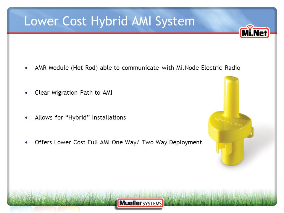 Lower Cost Hybrid AMI System