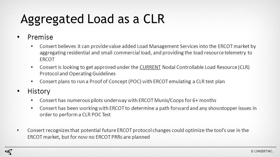 Aggregated Load as a CLR