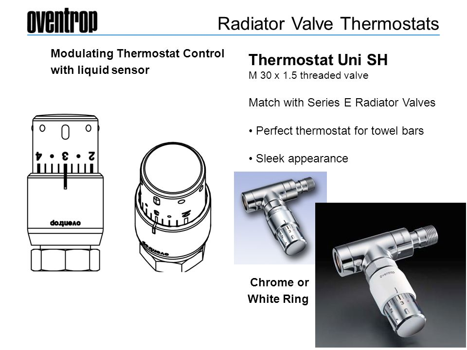 Radiator Valve Thermostats