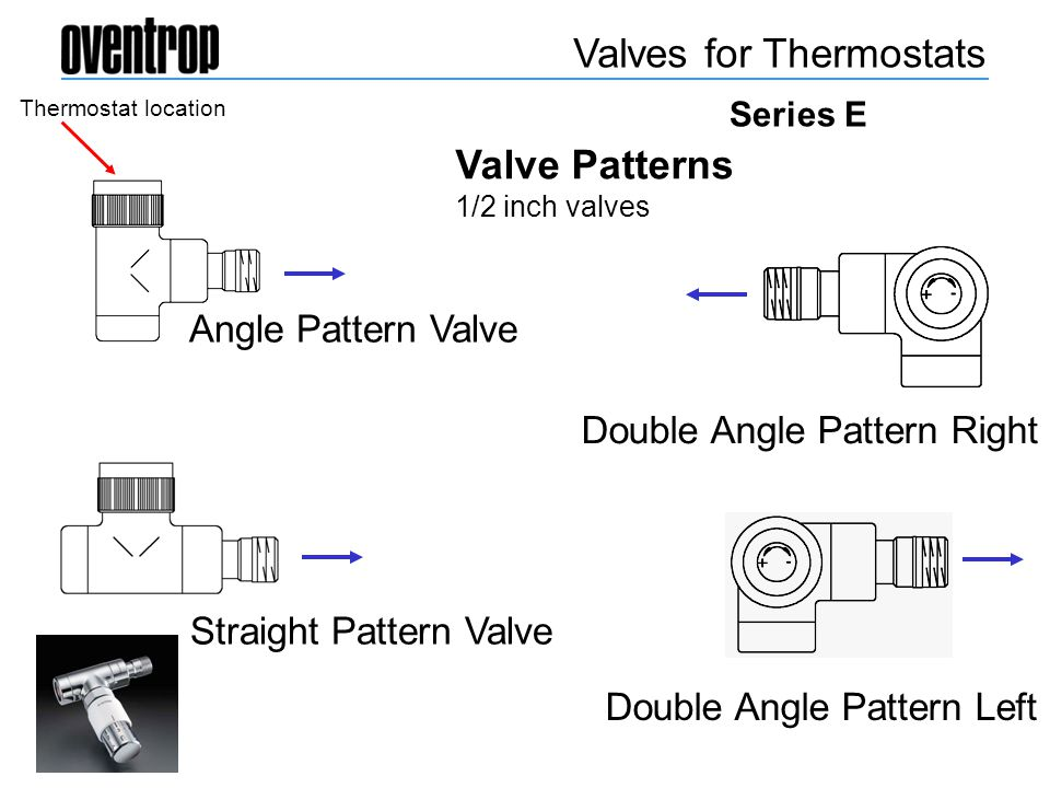 Valves for Thermostats