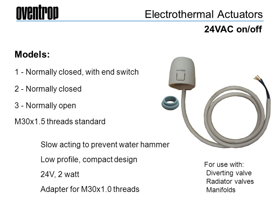 Electrothermal Actuators