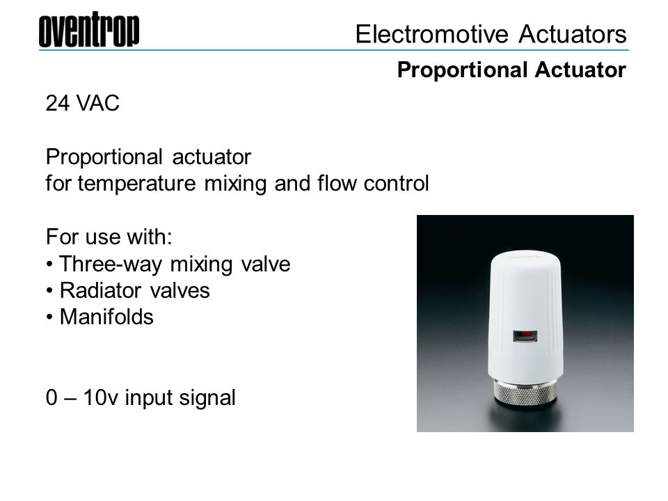 Electromotive Actuators