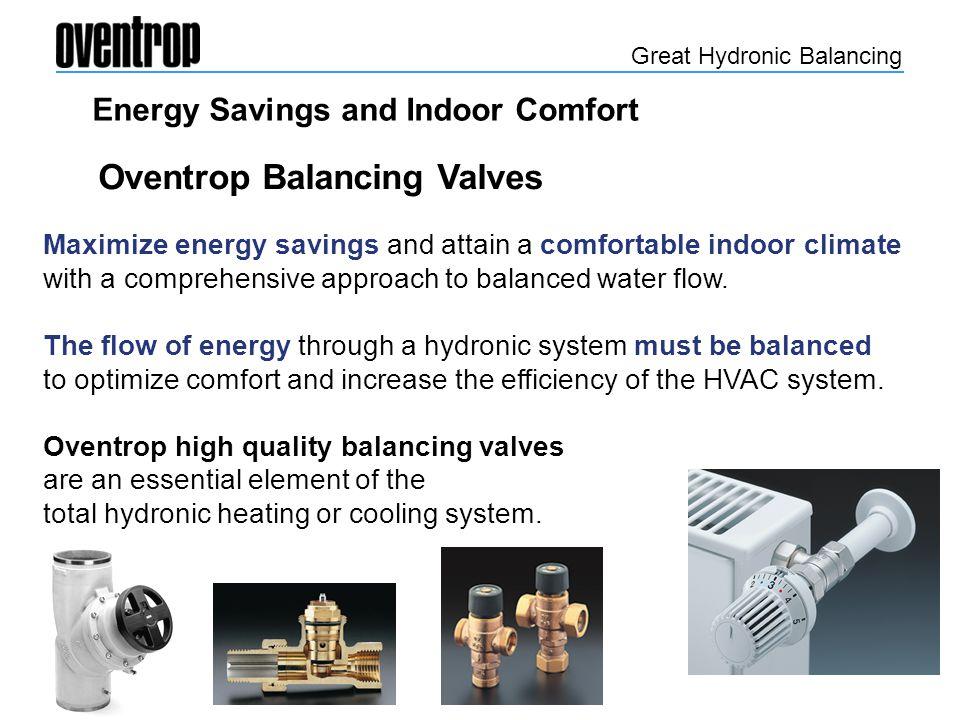 Oventrop Balancing Valves