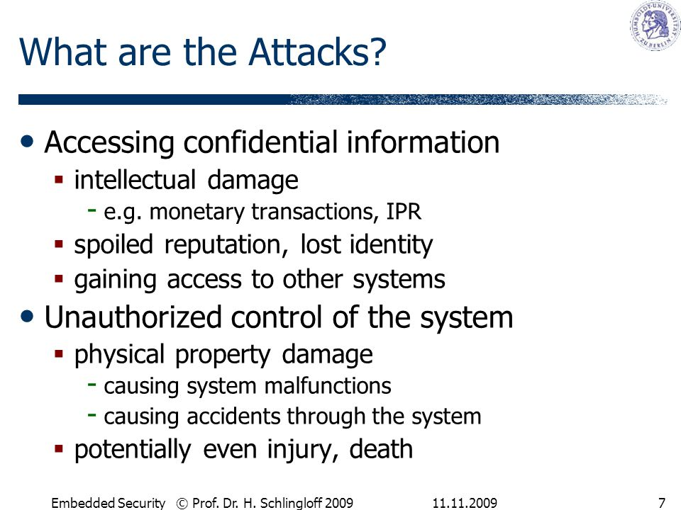 What are the Attacks Accessing confidential information