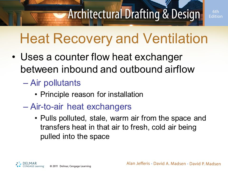Heat Recovery and Ventilation