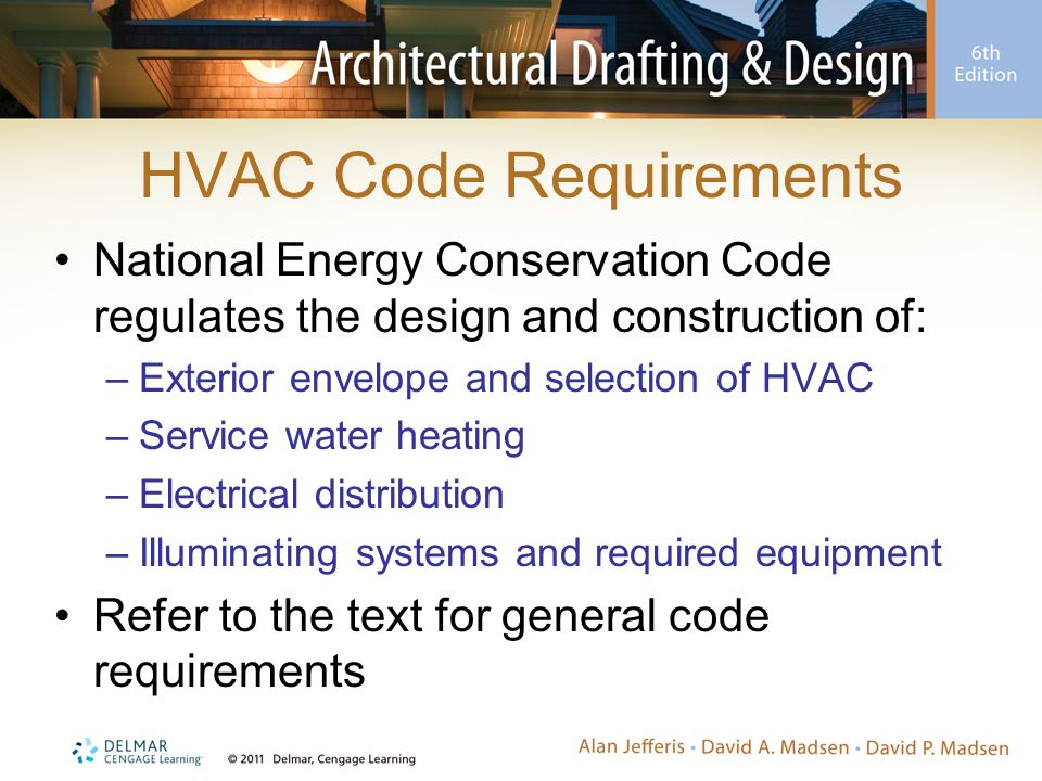 HVAC Code Requirements