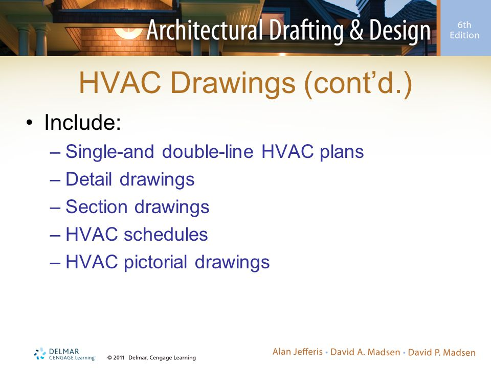 HVAC Drawings (cont'd.)