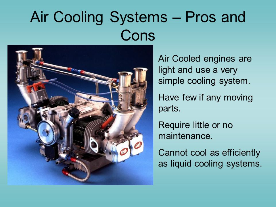 Air Cooling Systems – Pros and Cons