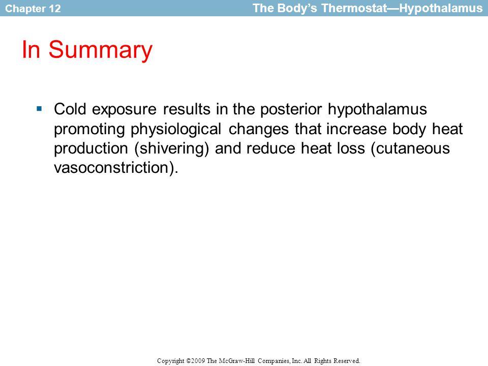 The Body's Thermostat—Hypothalamus