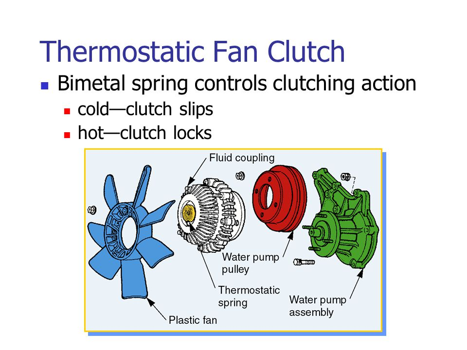 Thermostatic Fan Clutch