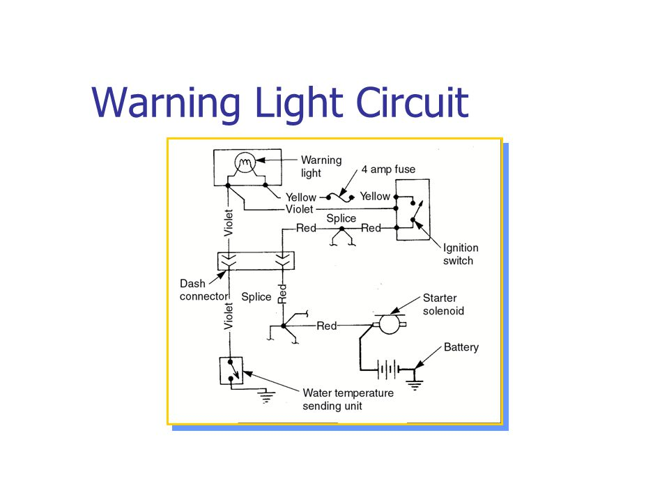 Warning Light Circuit