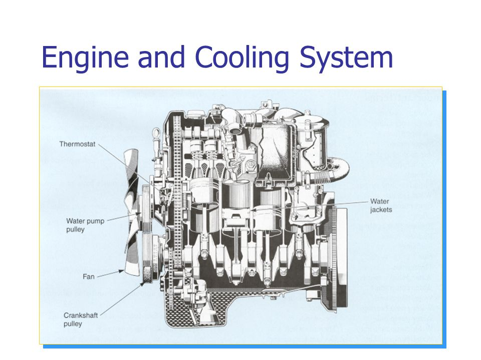 Engine and Cooling System