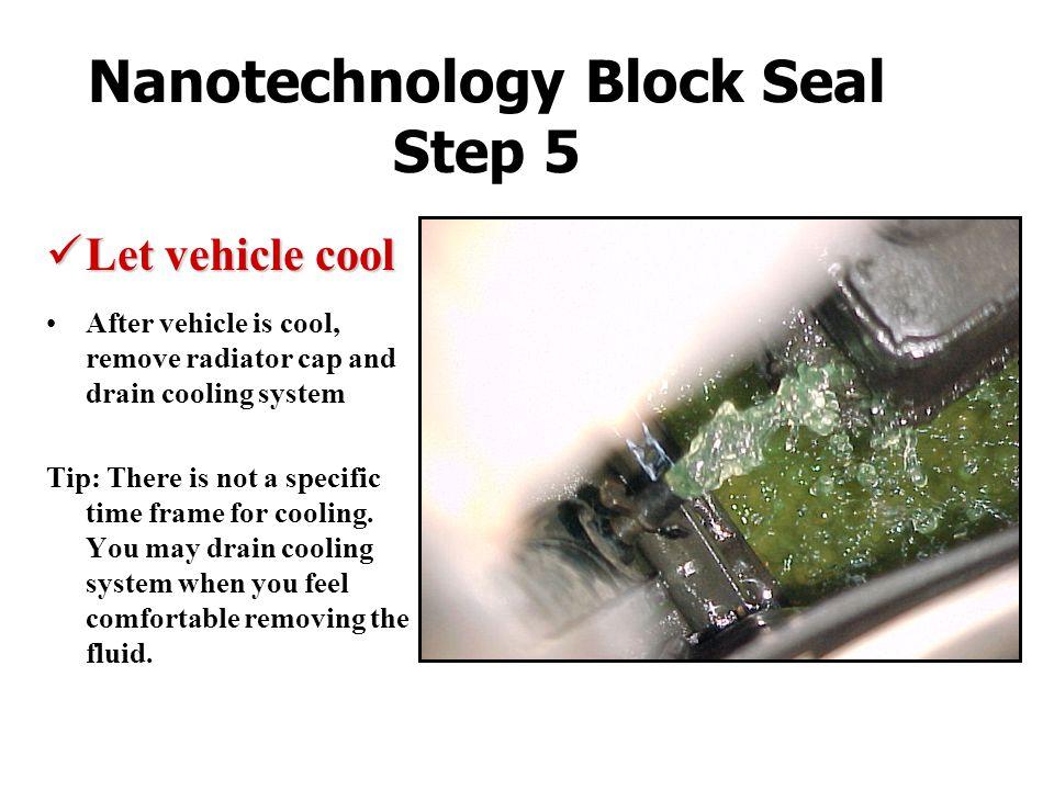 Nanotechnology Block Seal Step 5