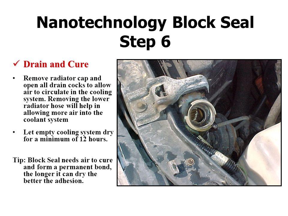 Nanotechnology Block Seal Step 6