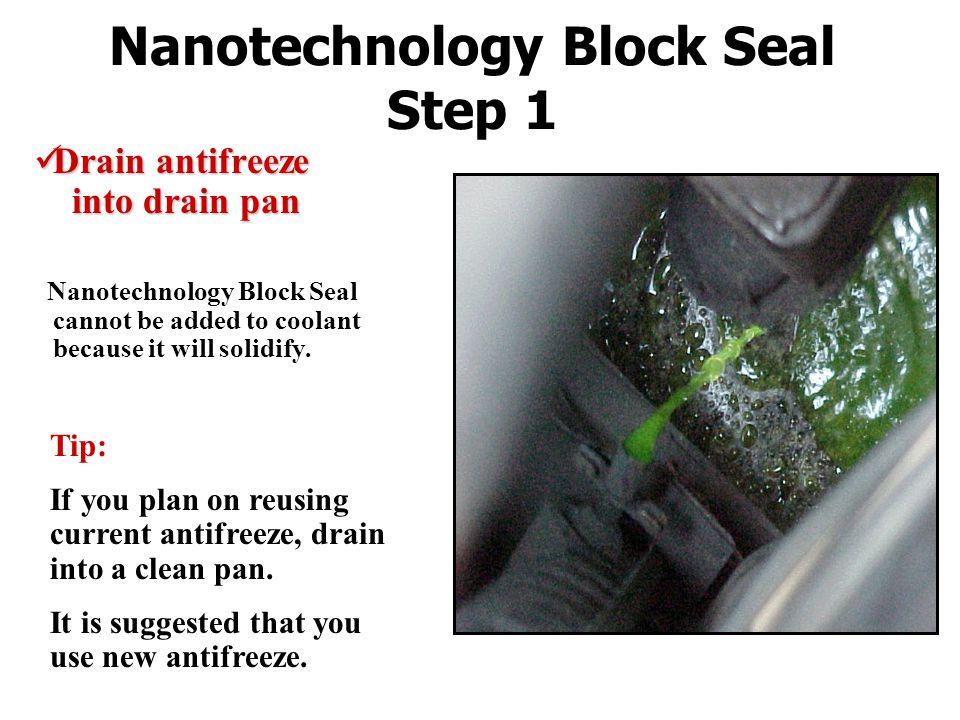Nanotechnology Block Seal Step 1