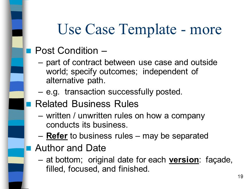 Use Case Diagrams Use Case Descriptions - Ppt Download