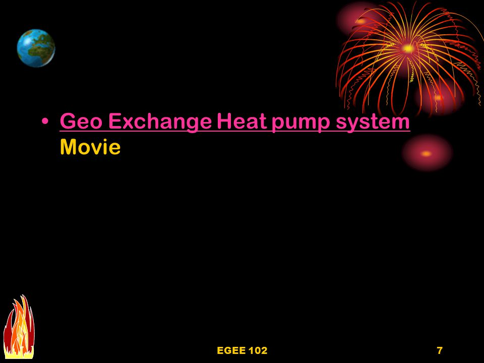Geo Exchange Heat pump system Movie