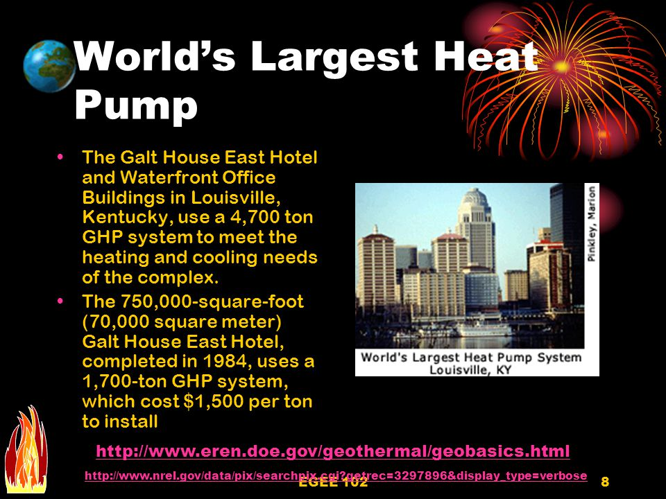 World's Largest Heat Pump