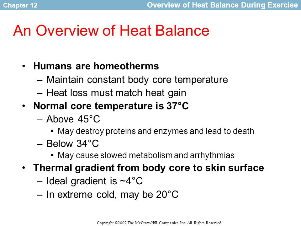 An Overview of Heat Balance