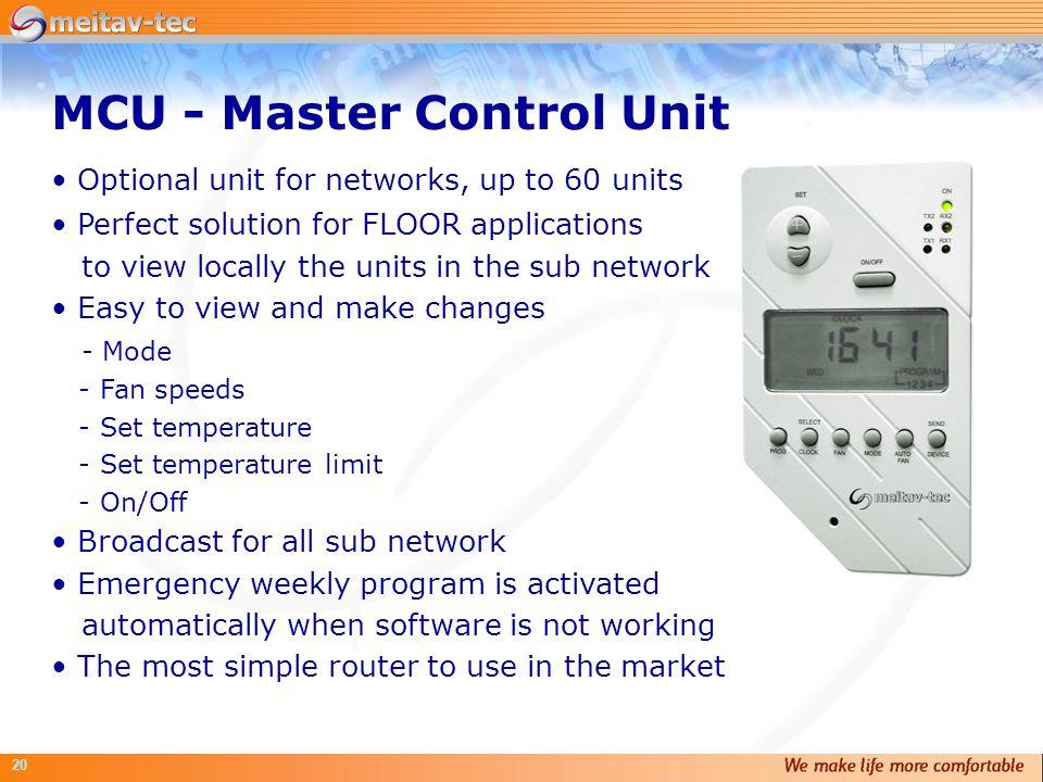 MCU - Master Control Unit