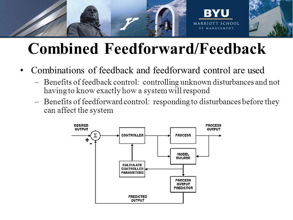 Combined Feedforward/Feedback