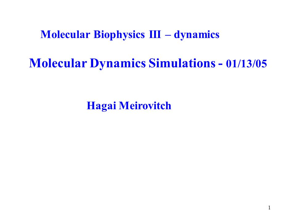phd thesis molecular dynamics The presentation i gave for my phd in physics thesis defense the corresponding publications:  molecular dynamics simulations on the effect of.
