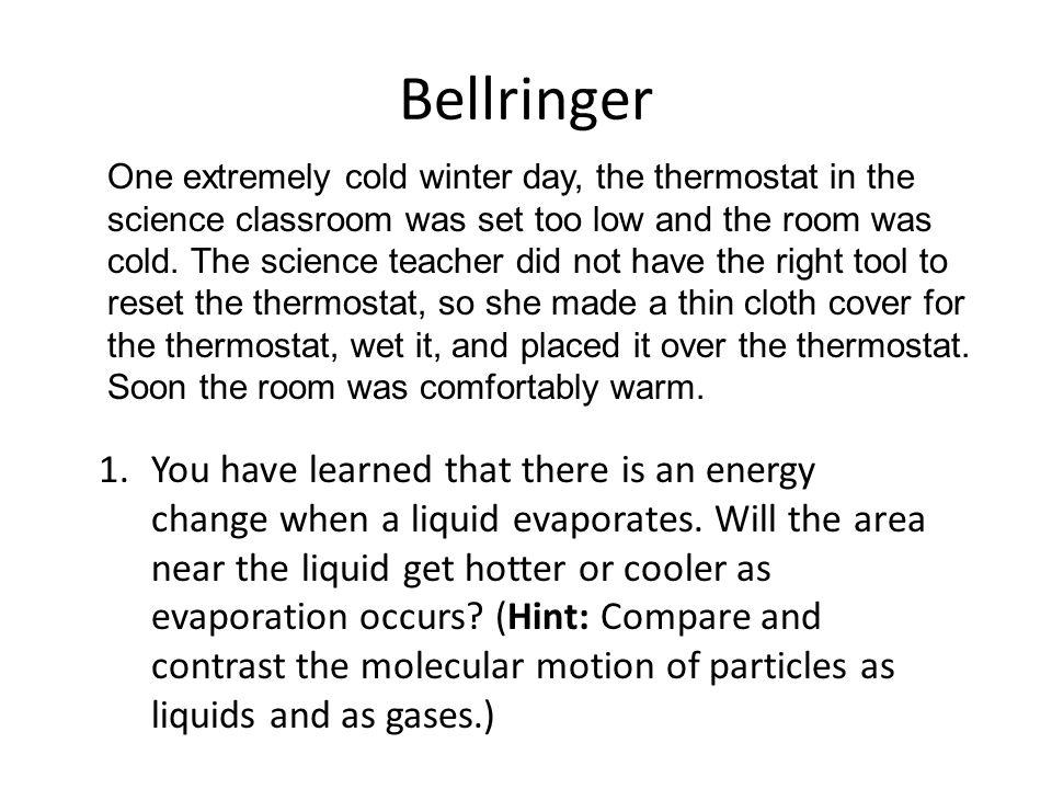 Chapter 13 Bellringer.