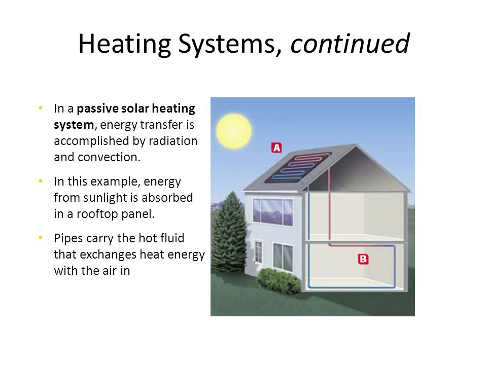 Heating Systems, continued