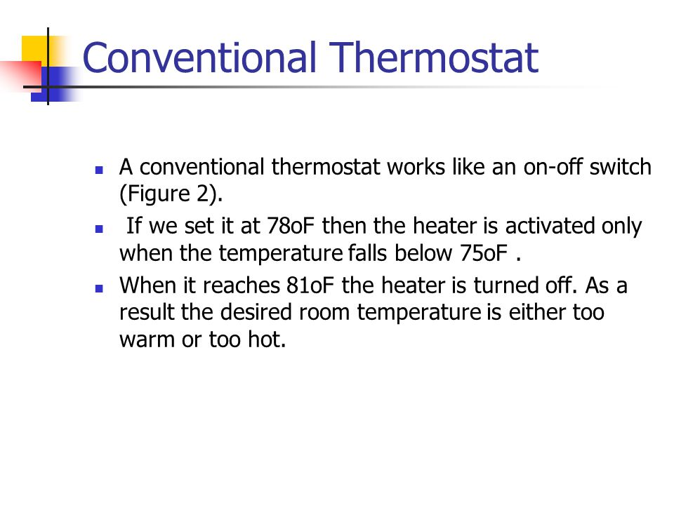 Conventional Thermostat