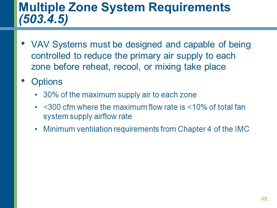 Commercial mechanical requirements ppt video online download for Table 6 1 minimum ventilation rates in breathing zone