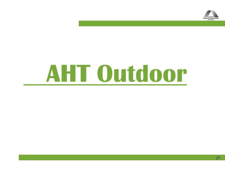 AHT Outdoor
